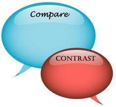 Introduction of a compare contrast essay